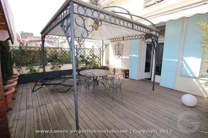 terrace for rent