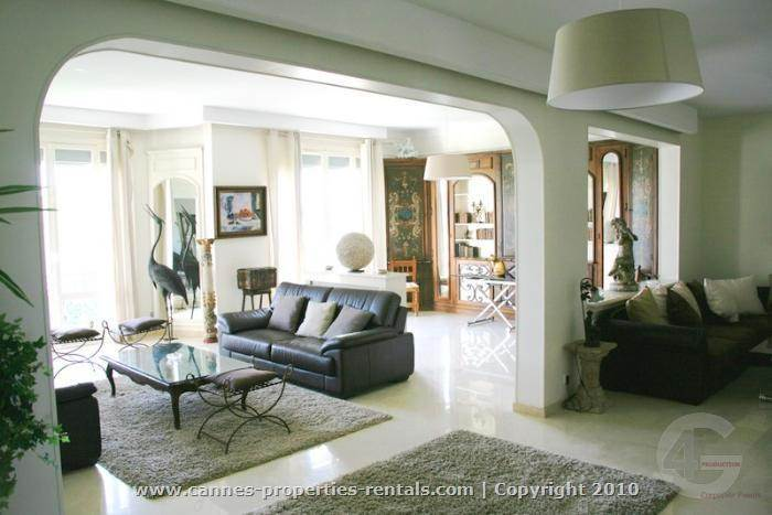Luxury Cannes Apartments  to Rent with Sea View ID:165