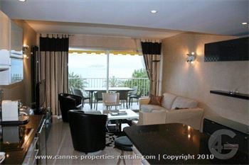 Luxury Apartment for Rent on the Croisette in Cannes ID:174