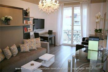 studio rental in central Cannes la croisette ID:225