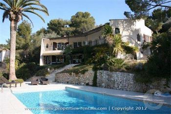 Luxury Villa To Rent in Cannes with sea view ID:231