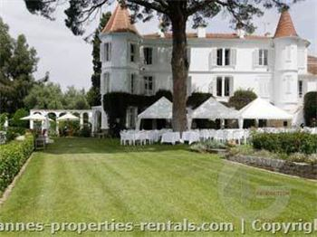 Amazing and unique Castle for rent in Cannes ID:235