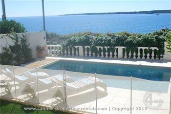 Villa for rent with panoramic sea view in Cannes ID:350