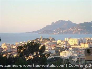 Short term Villa for rent in Cannes  ID:360