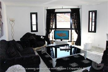 Modern furnished apartment rental in Cannes ID:358