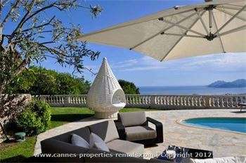 Villa for rent in Cannes France ID:372