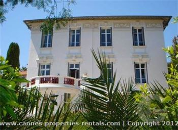 Exclusive villa in Cannes for rent ID:401