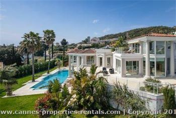 Cannes Luxury Villa rental  ID:404