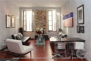 Beautiful loft style apartment in Cannes ID:435