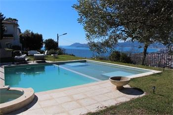 Cannes luxury villa with panoramic sea view ID:462