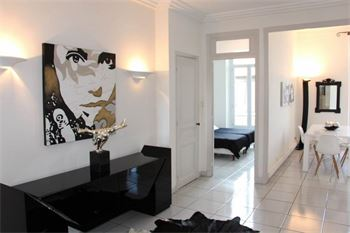 Cannes apartment for rent in the center of Cannes : ID 487
