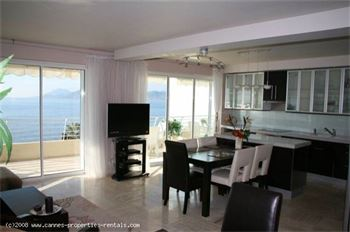 Luxury Cannes apartment sea front ID:46