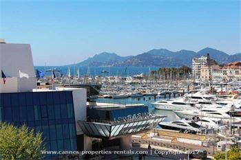 Cannes apartment for rent in front of the Palais Festival   ID:135